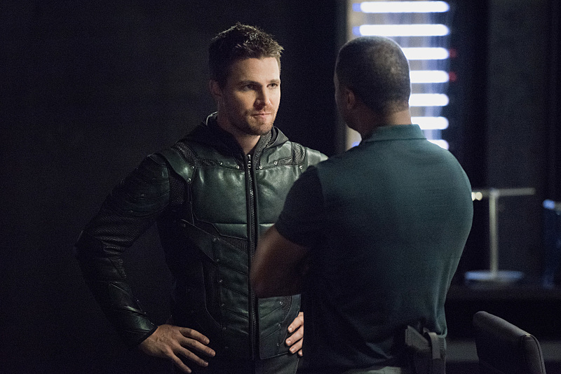 oliver queen e diggle