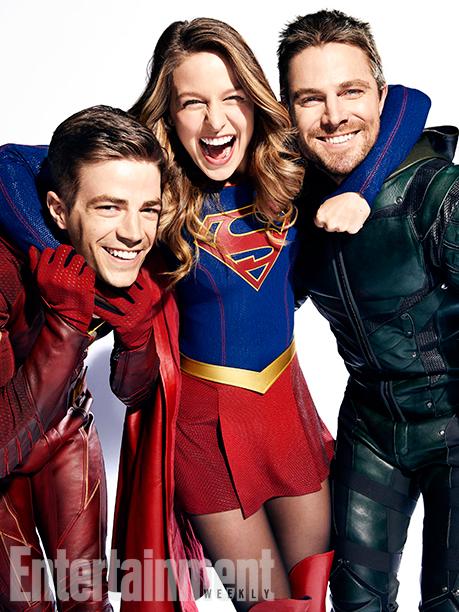 Mega crossover arrow, supergirl, legends of tomorrow, the falsh