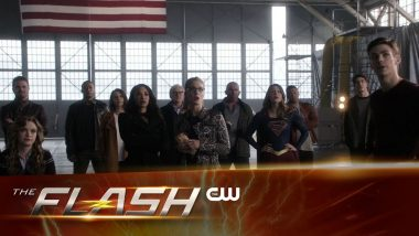 Trailer de The Flash S03E08: Invasion!(1) - Segunda parte do Crossover