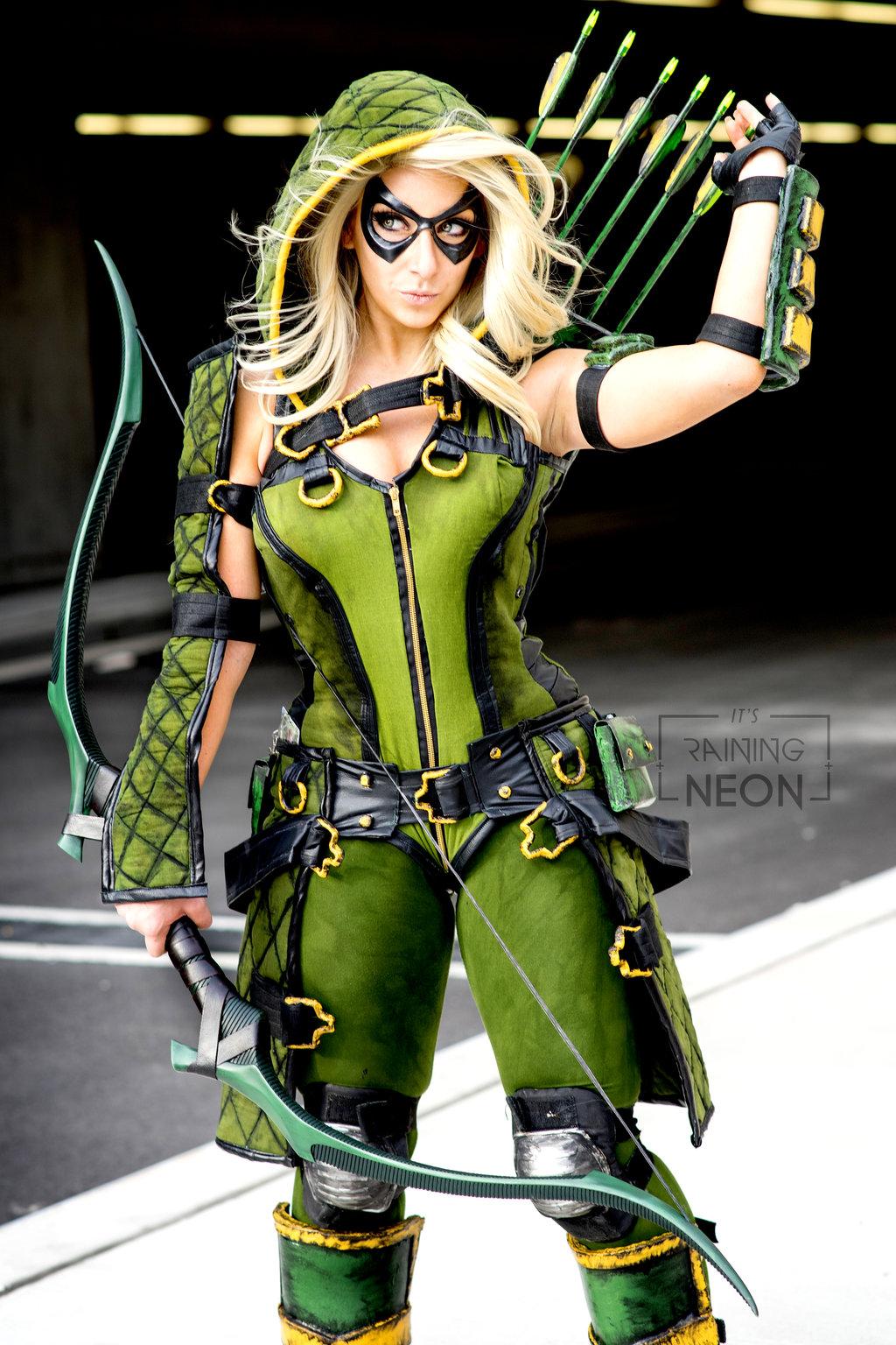 Cosplay de Injustice Green Arrow