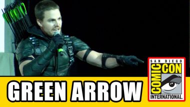 Green Arrow na Comic Con