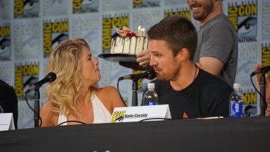 Happy Birthday Emily Bett (Felicity) na San Diego Comic-Con