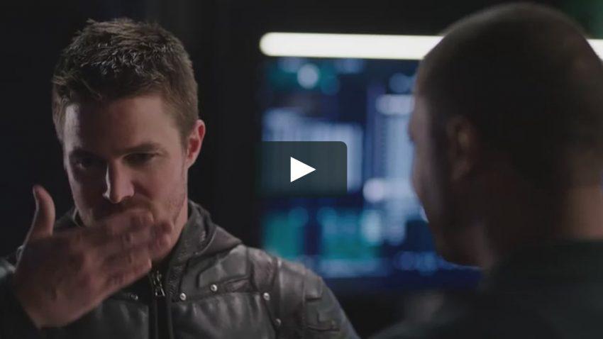 Erros de gravação da quinta temporada de Arrow