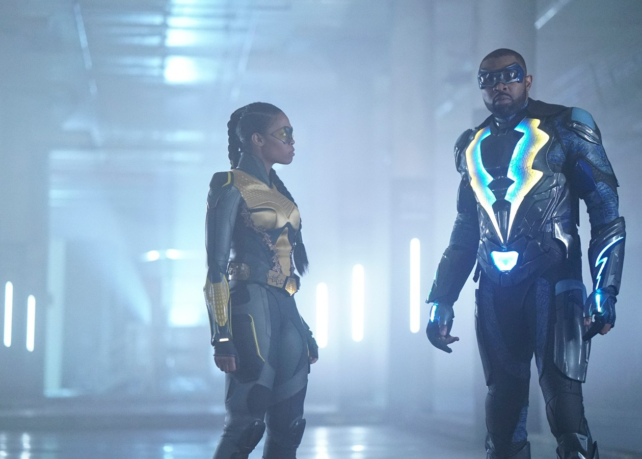 Black Lightning S01E10 Sins of the Father: The Book of Redemption