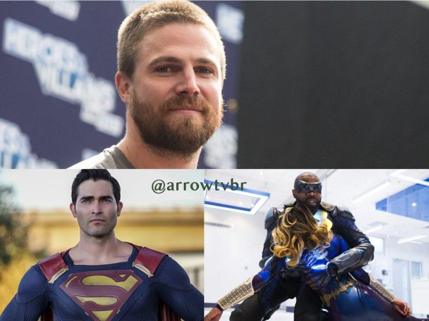 Stephen Amell Fala sobre Crossover com Black Lightning e Superman