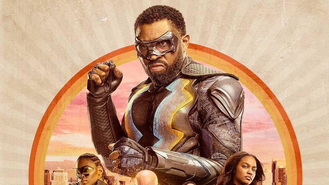 Novo poster da segunda temporada de Black Lightning