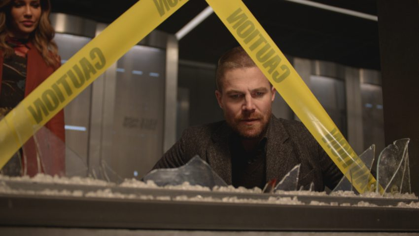 Arrow S07E010 Shattered Lives