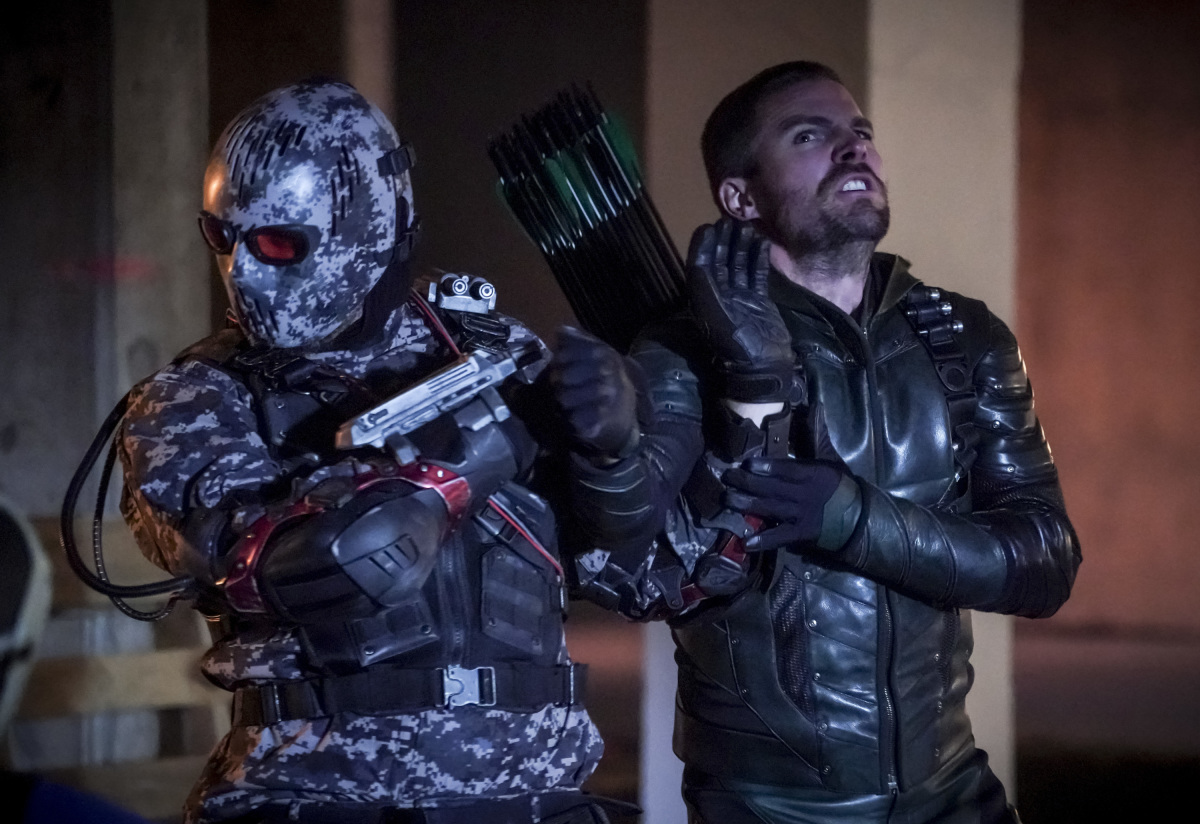 Arrow | S07E12 Emerald Archer | 150º Episódio