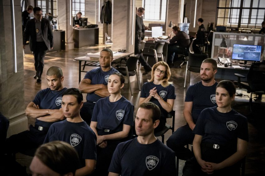 Arrow | S07E15 Training Day