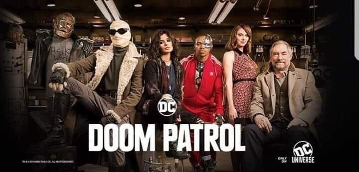 Doom Patrol | Teaser Trailer e novo poster da nova série da DC Universe