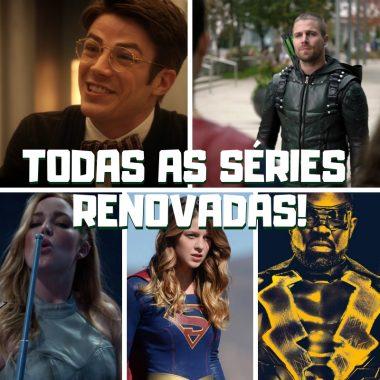 The CW renova todo o seu arrowverse