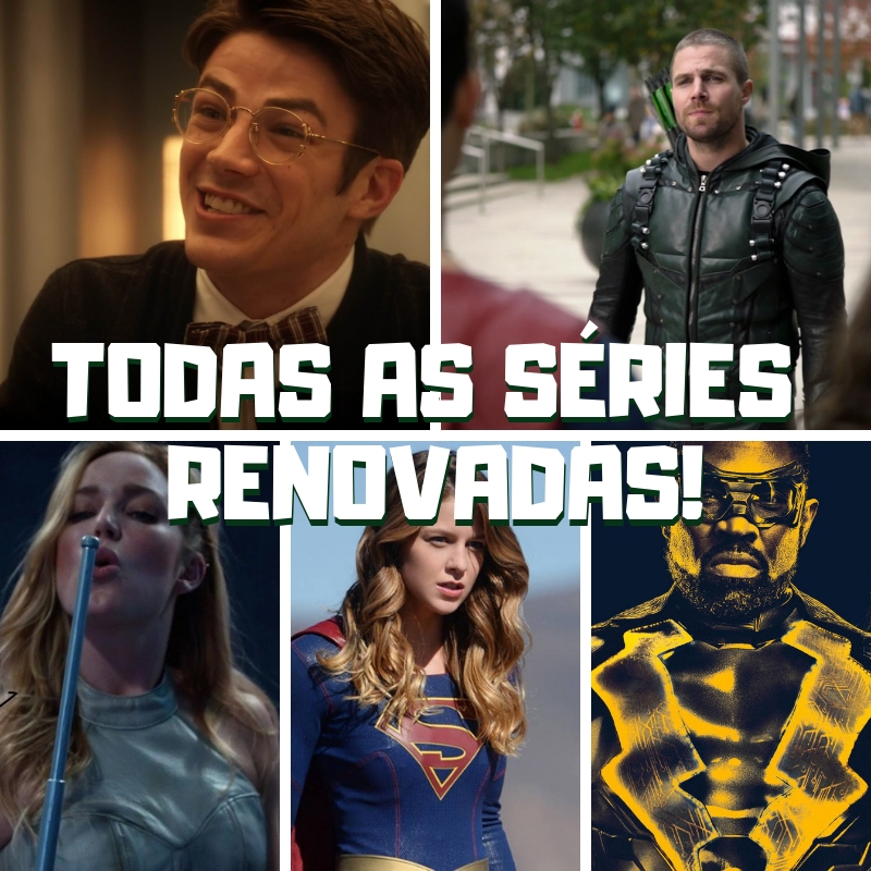 The CW renova todo o seu arrowverse
