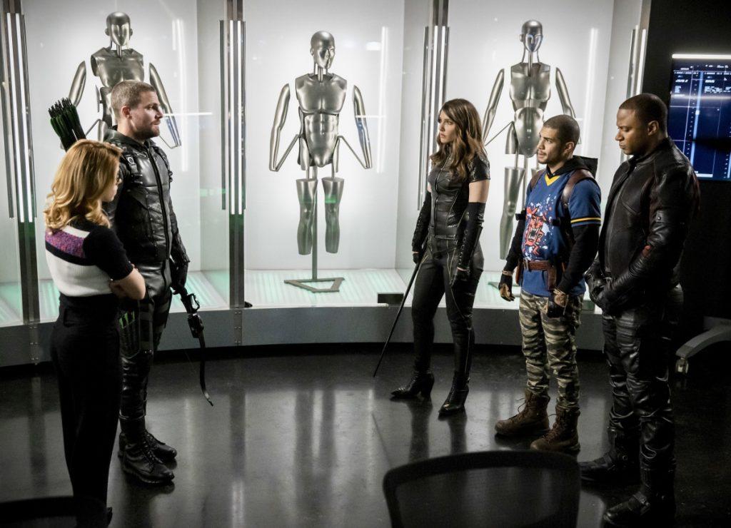 Arrow | S07E17 Inheritance