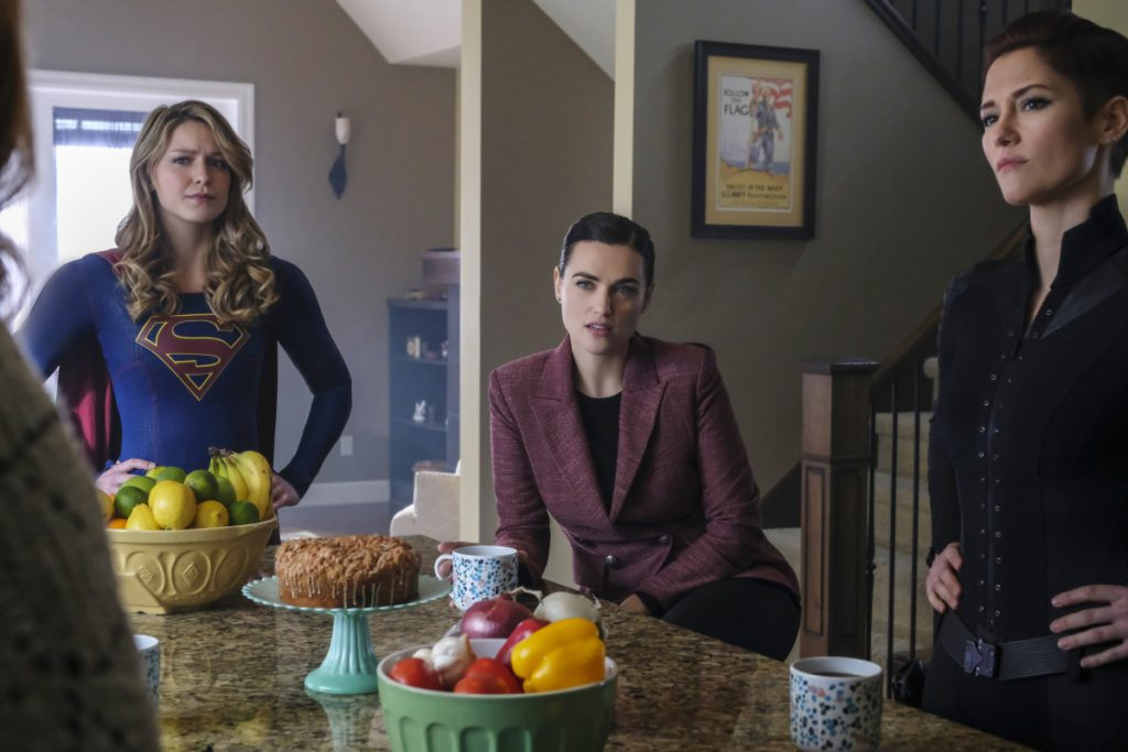 Supergirl   S04E17 All About Eve