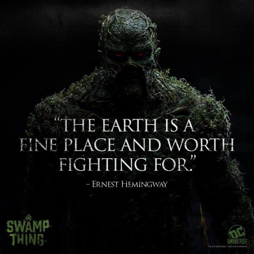 Swamp Thing | Divulgado mais dois posters