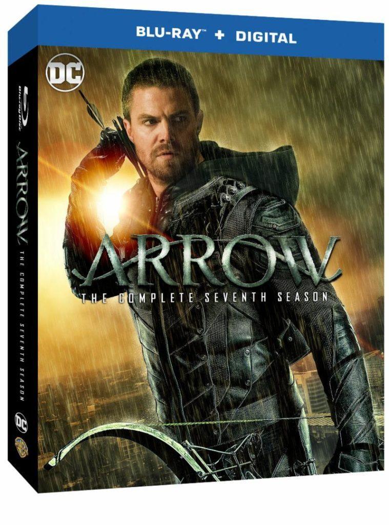 Arrow   Divulgado a arte da capa do Blu-Ray da 7ª temporada