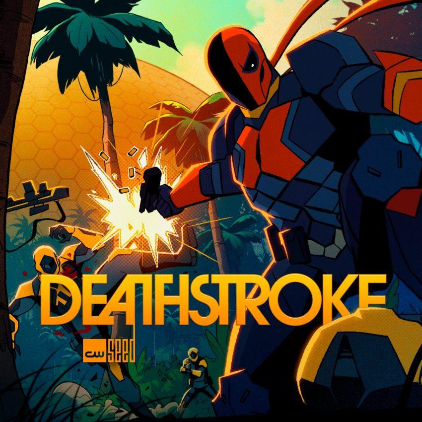 Deathstroke | Divulgado Poster da série animada