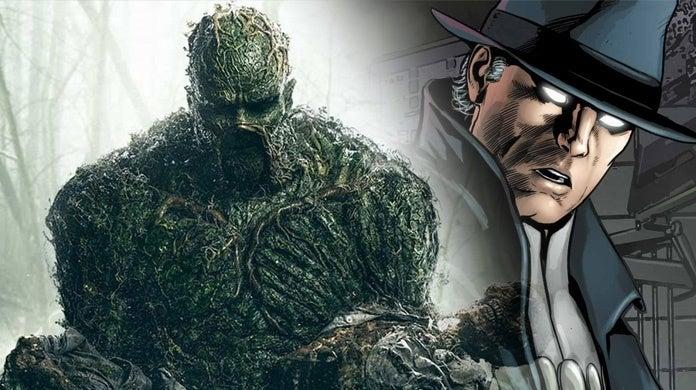Swamp Thing   Phantom Stranger está chegando