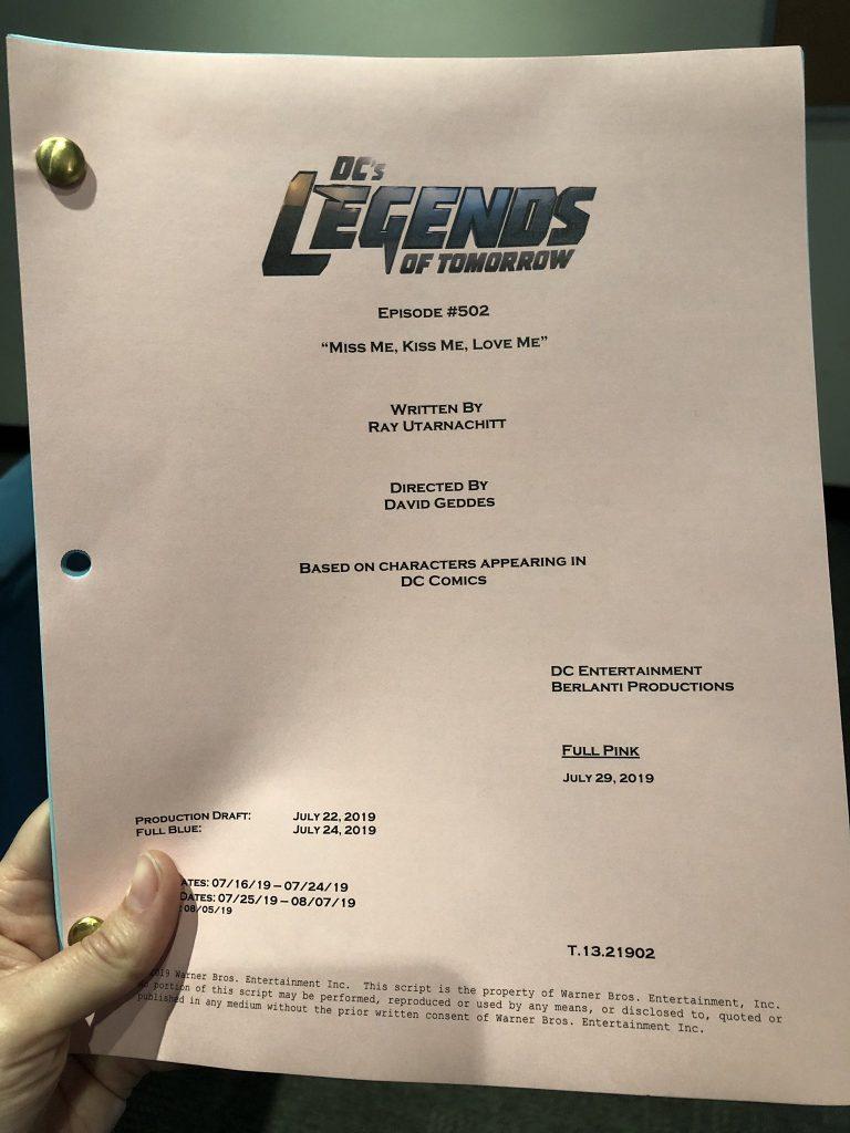 Legends of Tomorrow | Revelado o título do segundo episódio da 5ª temporada