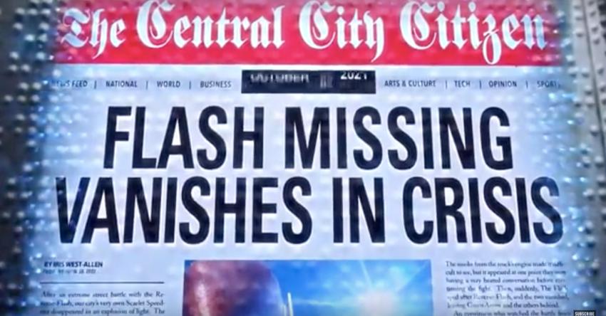 The Flash | Claquete do episódio indica possível conexão com Crise Nas Infinitas Series