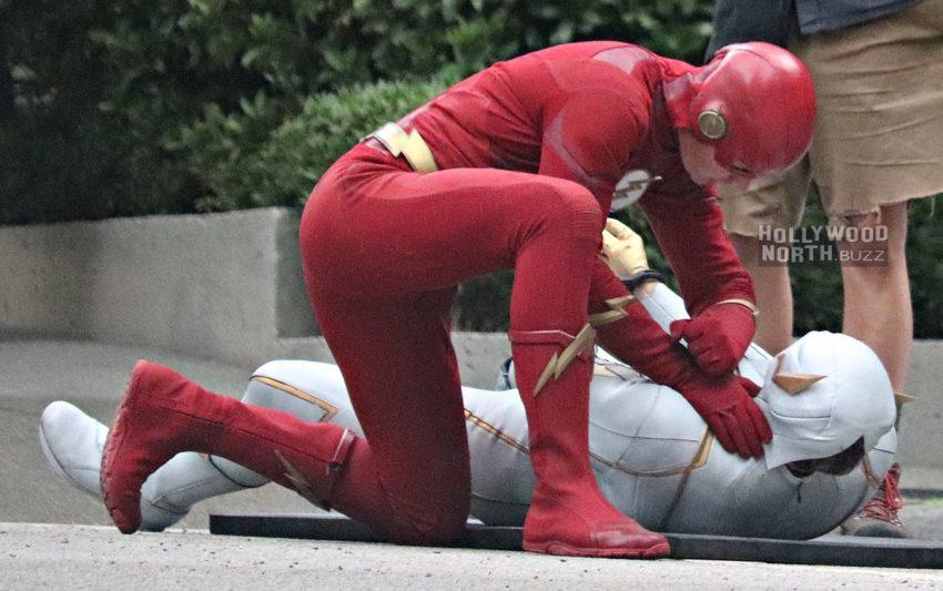 The Flash | Fotos vazadas dos bastidores mostram GodSpeed na 6ª temporada
