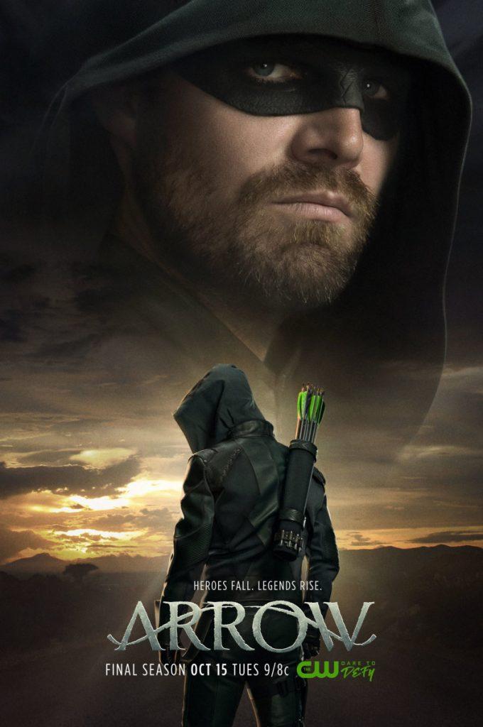 Arrow | Poster promocional da última temporada