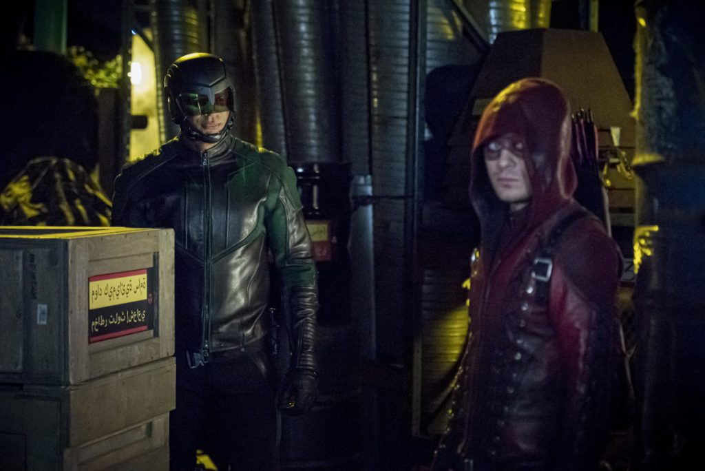 Arrow | Promos S08E05 Prochnost | Roy harper está de volta