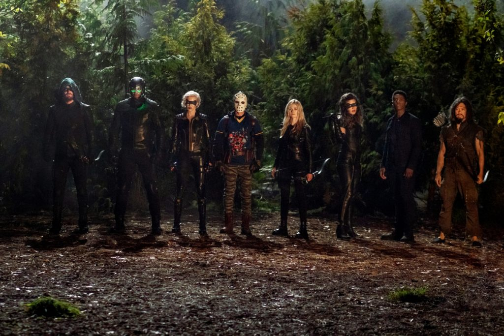 arrow | Fotos promocionais do episódio S08E07 Purgatory