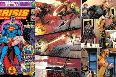 Crise nas Infinitas Terras | Divulgado primeiras imagens da HQ inspirada no crossover