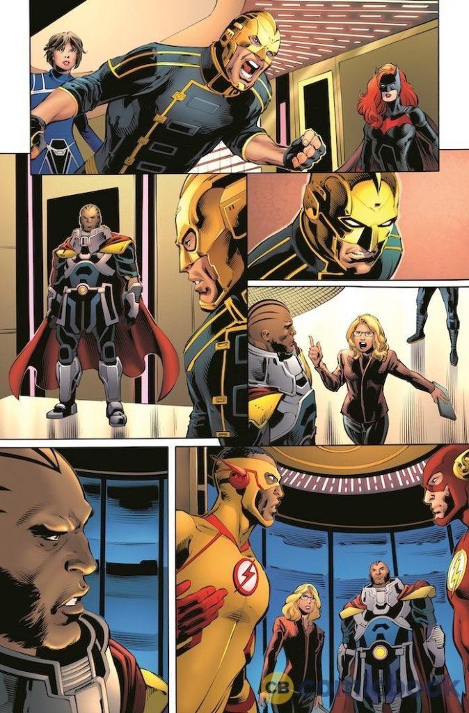 Crise nas Infinitas Terras   Divulgado primeiras imagens da HQ inspirada no crossover