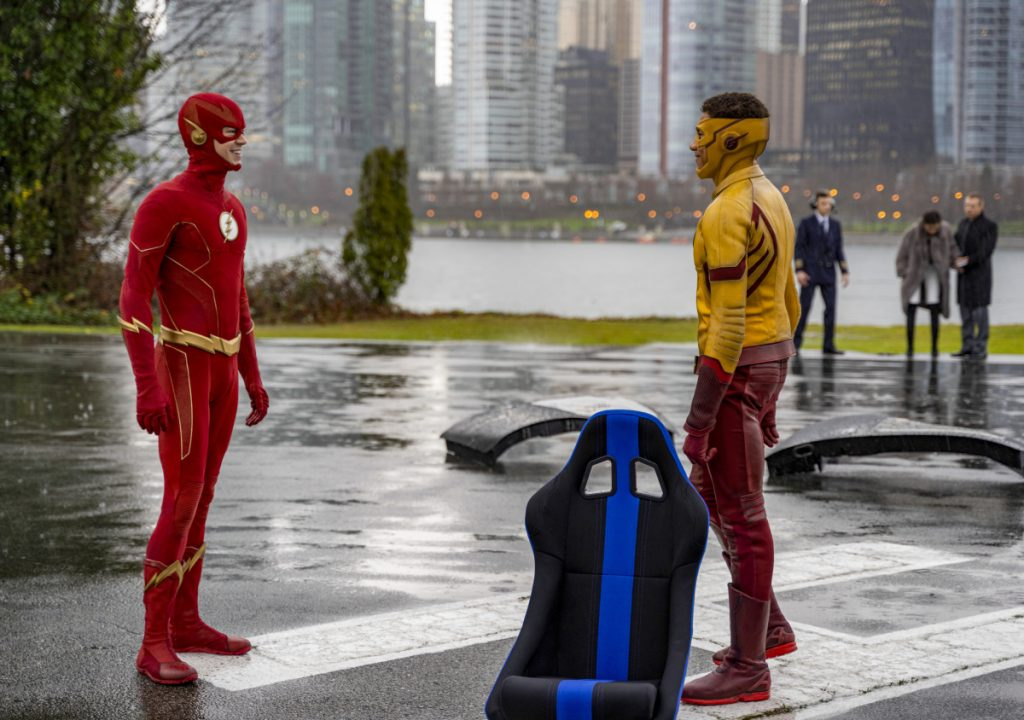 The Flash | S06E14 Death of speed force