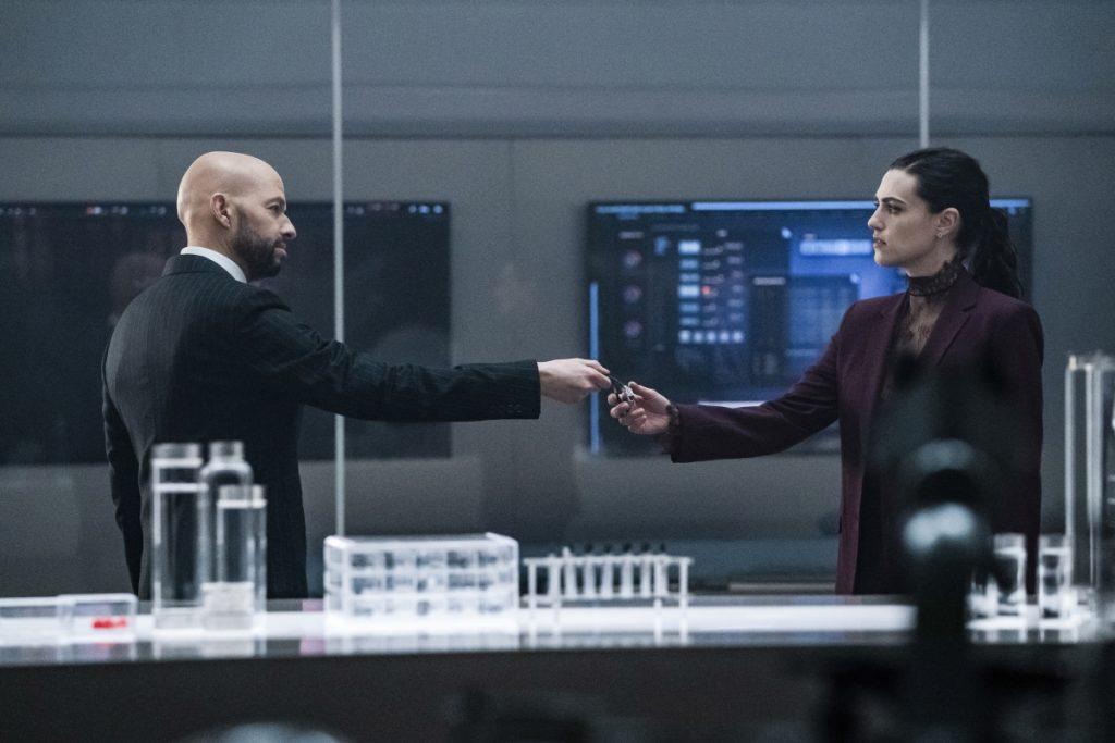 Promos do episódio S05E17 Deus Lex Machina