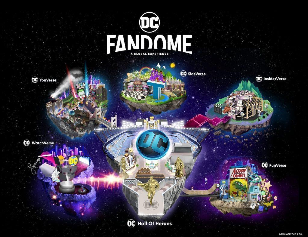 dc fandome evento online