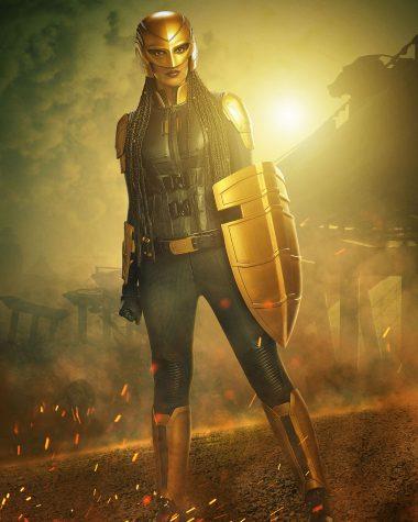 Supergirl | Primeira imagem da Azie Tesfai como a nova The Guardian