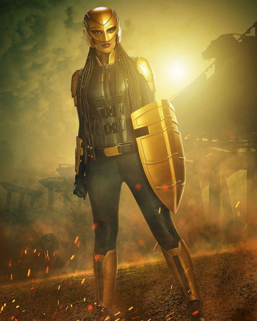 Supergirl   Primeira imagem da Azie Tesfai como a nova The Guardian